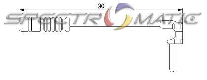1405401217 brake sensor MERCEDES W168 W201 W202 C208 A208 W124 W202 S124 W123 S123