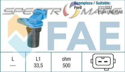 18944 /79133/ sensor FORD FIESTA FOCUS FUSION KA S10754200