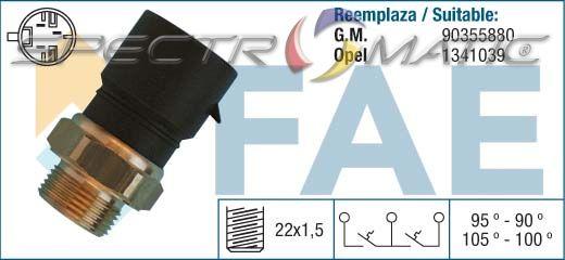 FAE 38310 Temperature Switch radiator fan