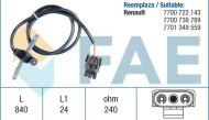 18779 /79025/ sensor RENAULT 11 18 25 RAPID 7700722143