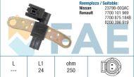 18936 /79029/ sensor RENAULT CLIO KANGOO MEGANE MODUS THALIA TWINGO S105548001E
