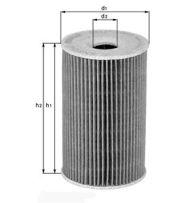 OX 135/1D - oil filter