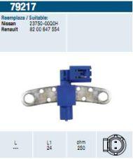 19087 /79217/ sensor DACIA DUSTER LOGAN SANDERO NISSAN KUBISTAR 2375000Q0H