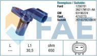 19143 /79255/ sensor FORD FIESTA FUSION MAZDA MX-5 OPEL AGILA 1256781