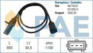 19011 /79296/ sensor FIAT PANDA SEICENTO 1.1 4x4 40KW 54HP 55189514 46778331
