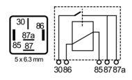 RLPS/5-24R-relay, 22A/24V
