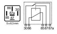 RLPAS/52-24-relay, 22/10A, 24V