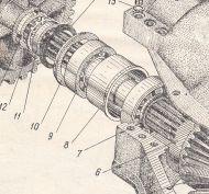 307-10А-5  Вал  Э-2503