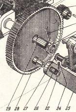 313-7-4А   Зъбно колело  Э-2503